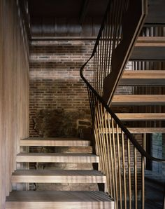 astley castle renovation - warwickshire - witherford watson mann - 2013 - int stair - photo hélène binet