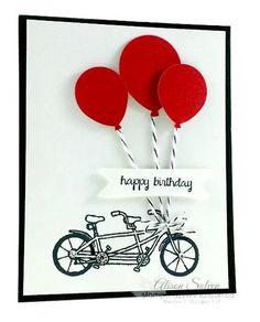 Pedal Pusher Happy Birthday Balloons!