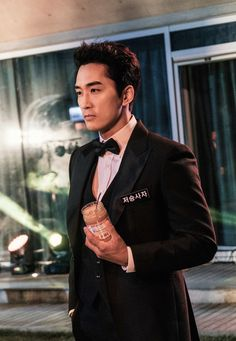 [Black] Korean Drama Black Korean, Korean Men, Asian Men, Song Seung Heon, Asian Actors, Korean Actors, Black Song, Dramas, Sung Hyun