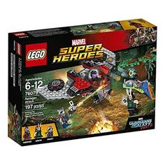 Chollo en Amazon España: Juego de construcción LEGO Marvel Ataque de Ravager por solo 10,50€ (un 64% de descuento sobre el precio de venta recomendado y precio mínimo histórico)