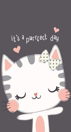 ごちそうさまでした♪Ana de Armas | 52605260526のブログ Diy Kawaii, Cat Wallpaper, Cat Party, Cute Cartoon Wallpapers, Cat Drawing, Cute Illustration, Clipart, Cute Art, Art For Kids