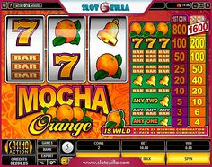 Juice up your mood!   Mocha Orange #slot powered by Microgaming is a perfect solution for hot summer day! Plunge right into a refreshing juicy ocean full of wins and solid cash prizes! Take your juicy chance and spin the reels!   Play at www.slotozilla.com | http://www.slotozilla.com/free-slots/mocha-orange