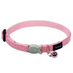 Pink Love Cat Collar