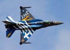 Zeus, Greek Air Force F-16 demo bird at RIAT 15