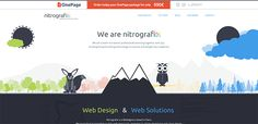 40+ Beautiful Flat Web Designs for Your Inspiration Photo