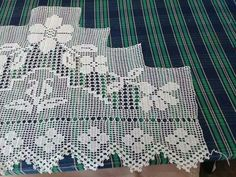 Filet Crochet, Crochet Lace, Bedding Sets, Crochet Patterns, Quilts, Blanket, Womens Fashion, Crochet Shorts, Dish Towels
