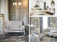 déco de style shabby et meubles baroques