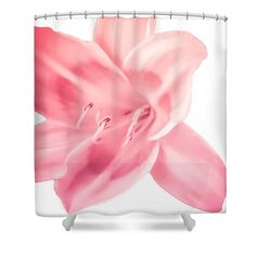 Tropical Pink Flower Shower by HeatherJoyceMorrill on Etsy