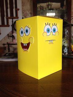 Spongebob Valentine's Day box