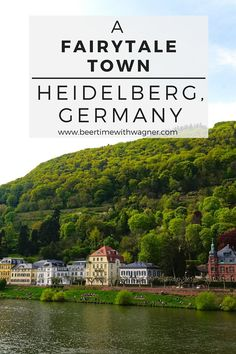 A fairytale town located on the banks of the Neckar River with Heidelberg Castle high above the old town, the city of Heidelberg, Germany is not to be missed!