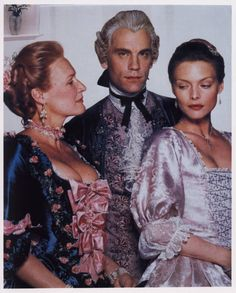 "Michelle Pfeiffer Glenn Close John Malkovich ""Dangerous Liasons"""