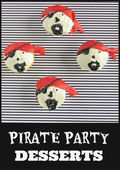 Pirate Party Dessert