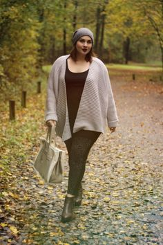 Plus Size Fashion - Plus Size Fall Outfit