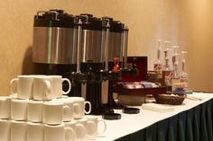 Enjoy the perfect cup of coffee during your meeting
