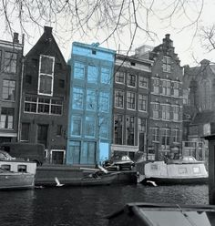 Anne Frank house in Amsterdam...absolutely moving!