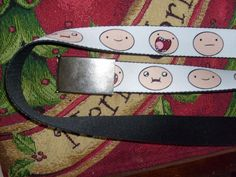 ADVENTURE TIME FINN ZACKY SEATBELT STYLE ADJUSTABLE POLYESTER BELT ONE SIZE FM #ZACKY