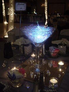 Classy 50th Birthday Party Ideas   Elegant Events Party 50th Birthday Black, Silver, White - ****Elegant ...
