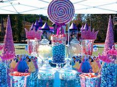 disney princess candy buffet ideas
