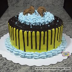 Happy Birthday, Birthday Cake, Sugar Art, Baking, Desserts, Food, Tarts, Sweet Treats, Recipes