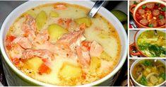 10 самых вкусных. Вот рецепты 10 простых, но невероятно вкусных супов, хотя бы 1-2 из которых должны быть в арсенале каждой домохозяйки. 1. Ароматный суп с копчёной курицей и плавленным сырком.