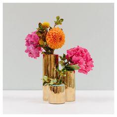 Oh Joy For Target Gold Bud Vase Trio