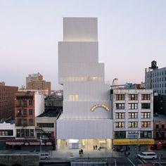 Dezeen » Blog Archive » New Museum by SANAA opens in New York