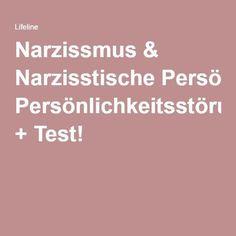 Narzissmus & Narzisstische Persönlichkeitsstörung. symptome und test