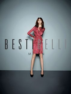 Lee Min Jung Crackles With Charm In BESTIBELLI's Fall/Winter Outfits + Mind Bridge Fall 2012 Ads With Gong Yoo