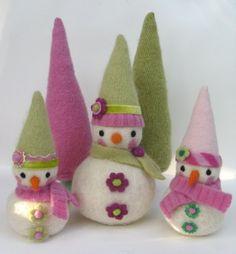 snowmen - so cute