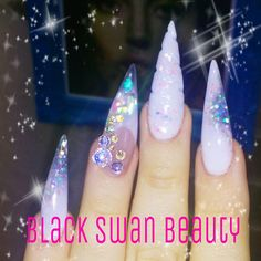 Unicorn Horn Nail by Black Swan Beauty