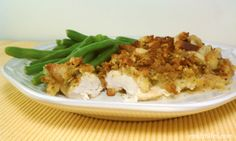 Emily Bites - Weight Watchers Friendly Recipes: Cheesy Chicken & Stuffing