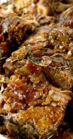 The Best Crock Pot Pork Tenderloin ~ This recipe makes an incredibly tender, moist,flavorful pork tenderloin with a fabulous pan sauce/gravy... All from scratch-no canned soup!
