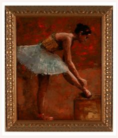 ballet dancer 1   55 x 45cm