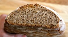 Sugar free high protein sprouted grain bread  This tasty bread is both filling, good to eat and packed with protein and nutrients. Sprouted grains aid digestion, provide an extremely high level of protein - similar to