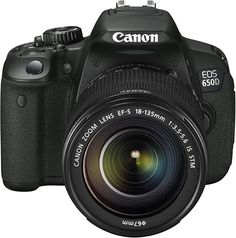 The Canon EOS Rebel Kiss is the an touch-screen DSLR with a sensor-based hybrid AF system for improved focus in movie and live view modes. The camera gains the all-cross-type AF sensor from the EOS and can now shoot at Nikon Digital Camera, Digital Slr, Slr Camera, Canon Digital, Kamera Nikon, Nikon D70, Camera World, Canon Dslr, Canon Ef