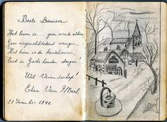 uit het poesie album van Louisa uit 1942 Old Paper, Mail Art, Cursive, Moleskine, Love Letters, Art Journals, Wwii, Holland, Poetry