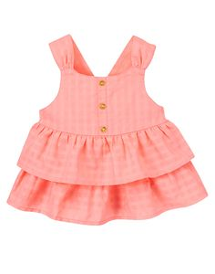 Glitter Button Ruffle Top at Gymboree Newborn Girl Outfits, Toddler Outfits, Kids Outfits, Boy Newborn, Baby Boy Fashion, Toddler Fashion, Kids Fashion, Funny Baby Clothes, Babies Clothes