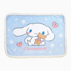 Soft #Cinnamoroll blanket  ( ̄3 ̄)  シナモロール ブランケット