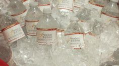 Water Bottle Labels - Bridal Show Give-a-ways