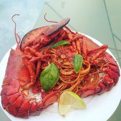 Spaghetti lobster :) [OC]
