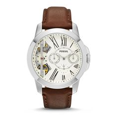 Genuine Fossil Grant Twist Gents Watch in Bangladesh. Online Shopping in Bangladesh for Fossil Original Watch with Home Delivery. Mens Watches Leather, Leather Men, Fossil Watches For Men, Brown Leather Watch, Skeleton Watches, Gents Watches, Stainless Steel Watch, Michael Kors Watch, Free Shipping