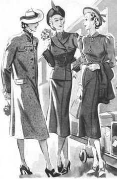 Historia de la moda:siglo XX décadas 01,10,20,30,40,50.(2)                                                                                                                                                                                 Más
