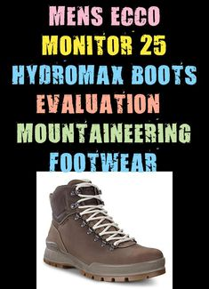 Mix premium oil nubuck leather-based with an ECCO HYDROMAX water-repellent expertise, and also you've bought among the finest climbing boots on the market. With contrasting darkish brown and white laces, these males's ECCO Monitor 25 Hydromax boots l #boots #evaluation #footwear #hydromax #monitor #mountaineering Mens Fashion Blog, Mountaineering, Craft, White Lace, Climbing, Hiking Boots, Monitor, How To Look Better, Footwear