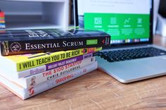 A collection of excellent Web/PM books on my desk. Highly recommend them all especially Essential Scrum by Kenneth Rubin  #webdesign #webdevelopment #projectmanagement #london #design #blog #startup #website #wordpress #web #marketing #creative #agile #business #books by bytebubble
