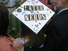 Another Nerd inspired graduation cap #graduation #happymoment #nerdrules
