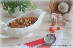 Cocina compartida: Salsa de verduras para pasta