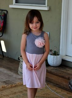 The Beginner's Jersey Baby Dress: A Free Sewing Pattern – Pretty Prudent