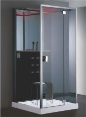 CANIM  8758 Steam Shower Room (with three side glasses) 1000 x 1000 x 2230 mm  Features :  Innovative design with elegant looks  High pressure copper massage nozzles for rejuvenating  Rain shower with LED for mood elevating chromotherapy  http://www.cera-india.com/NjU3/CANIM.aspx#