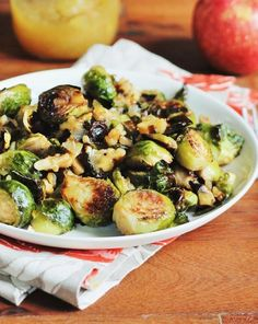 Apple-Glazed Brussels Sprouts | Paleo Recipes to Make This Thanksgiving