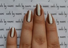 Check out the full video tutorial here! And the speedtorial here! After cleaning, filling and shaping the nail and applying a base coat: 1. apply 2 thin coats of dark brown polish 2. using the brush from the bottle of a medium brown polish, fill in...